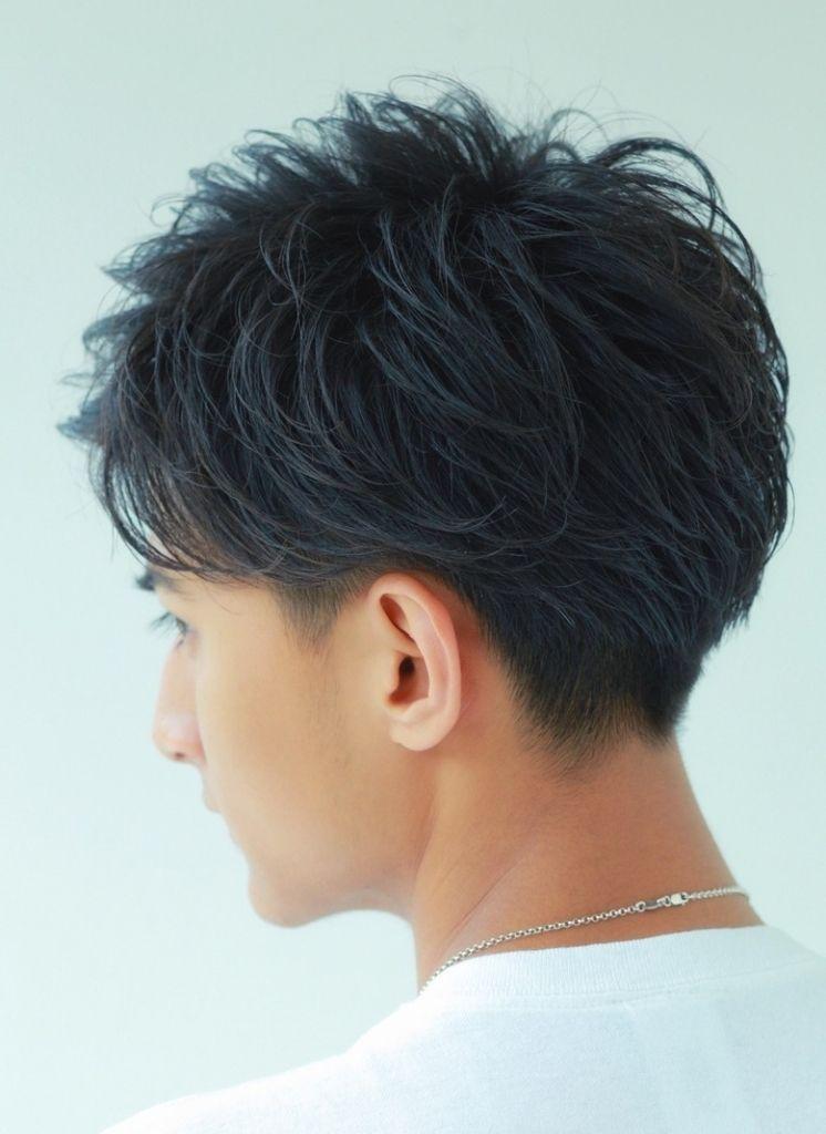 メンズ 髪型 後ろ 刈り上げ 髪型 ブロック 髪型 面長 髪型