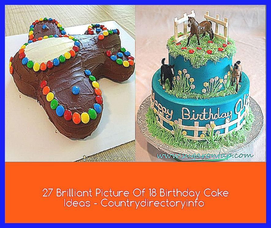 Photo of 27 Brilliant Picture Of 18 Birthday Cake Ideas – Countrydirectoryinfo –  funny f…