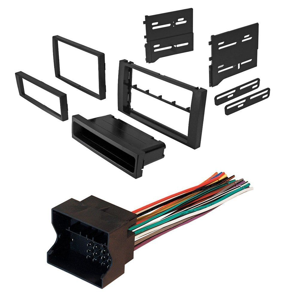 ford transit connect 2010 car radio stereo radio kit dash installation mounting wire harness [ 1000 x 1000 Pixel ]