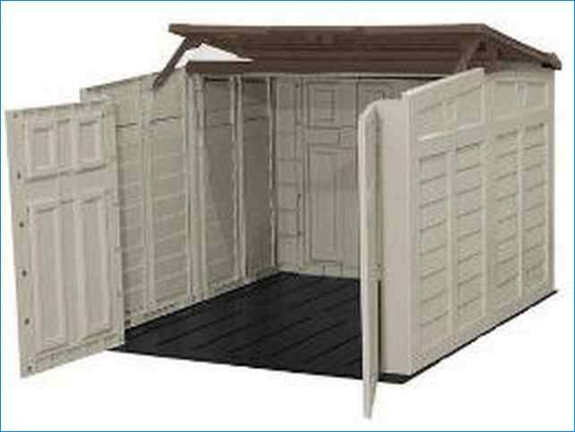 Motorcycle Storage Shed Rubbermaid More