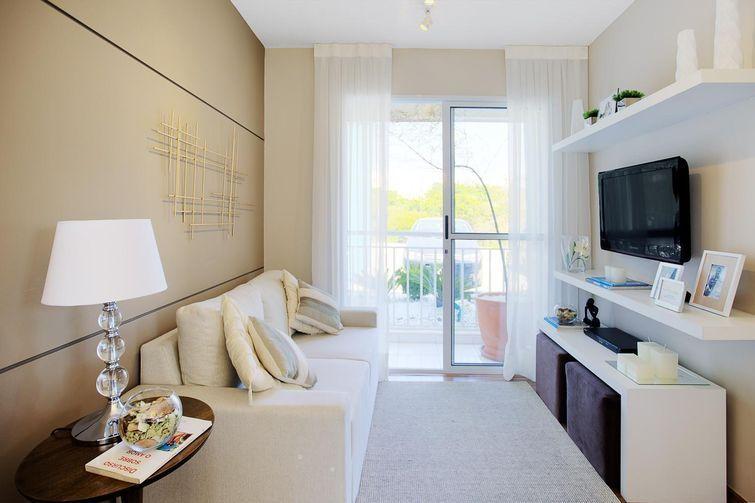 Decora o de sala pequena decora o sala de estar for Salas de estar pequenas