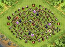 Alex 323 TH 10 Clash of Clans Base Layout