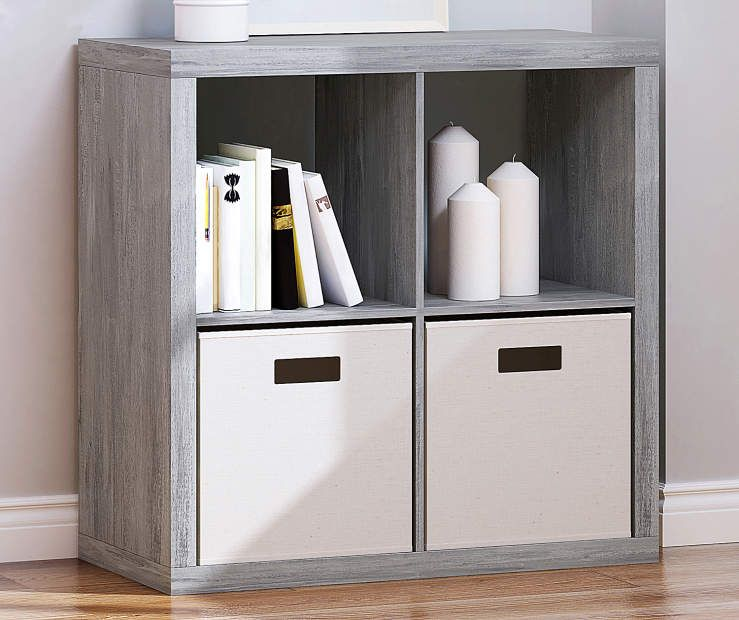 Stratford Reclaimed Gray 4 Cube Storage Cubby With Images Cubby Storage Cube Storage Stylish Toy Storage