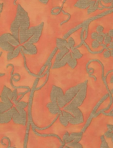 Edera in pompeian pink & silvery gold #fortuny: http://fortuny.com/Fabrics.aspx#2364bef1-0531-4f2c-bb38-05ed85a4be56  Follow Fortuny on Pinterest! pinterest.com/fortuny