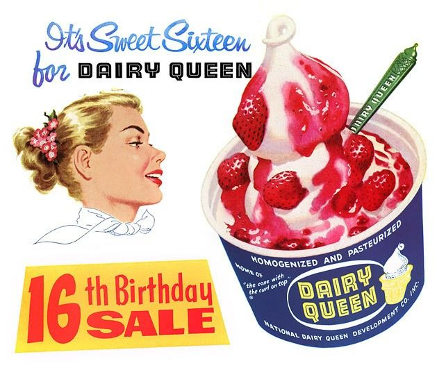 LOT 30 Dairy Queen RED LONG SPOON NEW