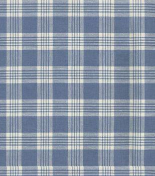 Upholstery Fabric Waverly Pendant Plaid Larkspur