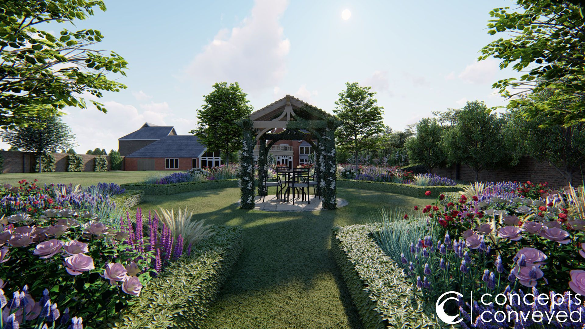 Pin On Country Garden Render Examples