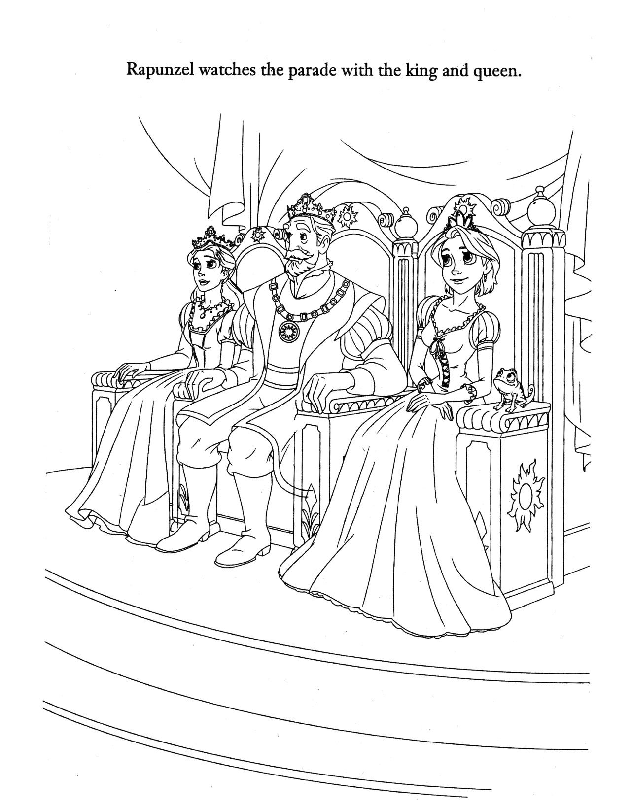 palace pets coloring pages - Google-søgning | Tangled coloring pages,  Cartoon coloring pages, Rapunzel coloring pages