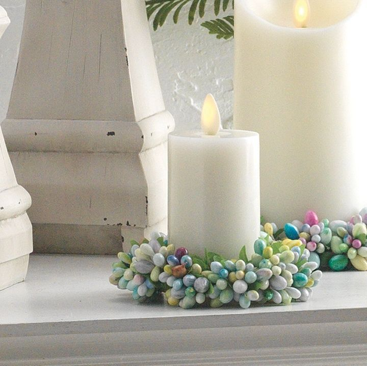 Pastel Pip Berry Candle Ring 3.5 inch | Candles, Candle ...