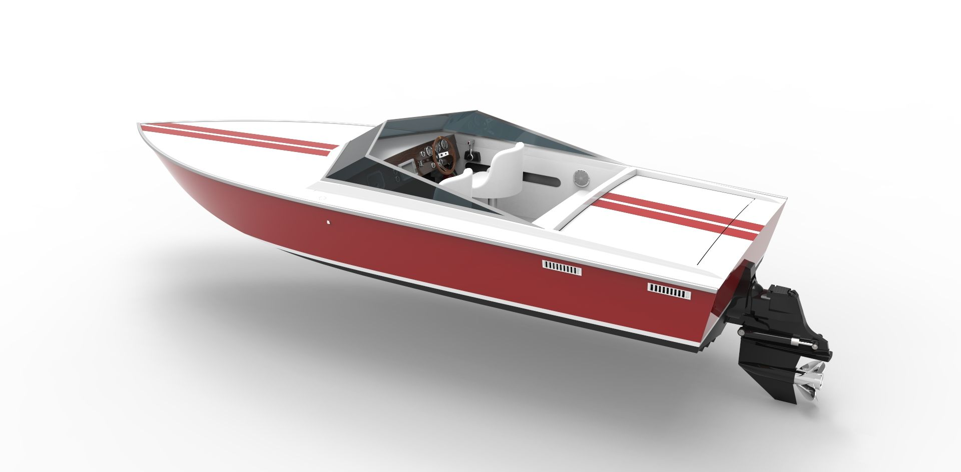 A 20 foot cnc aluminum cigarette boat kit speed boat kit styled a 20 foot cnc aluminum cigarette boat kit speed boat kit styled after the legendary swarovskicordoba Image collections