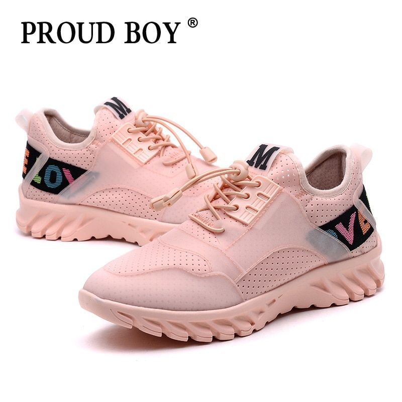 84774fd2910 Running shoes for women Gym Breathable lace up Sneakers Comfortable Outdoor  Jogging Walking Sport Shoes girls