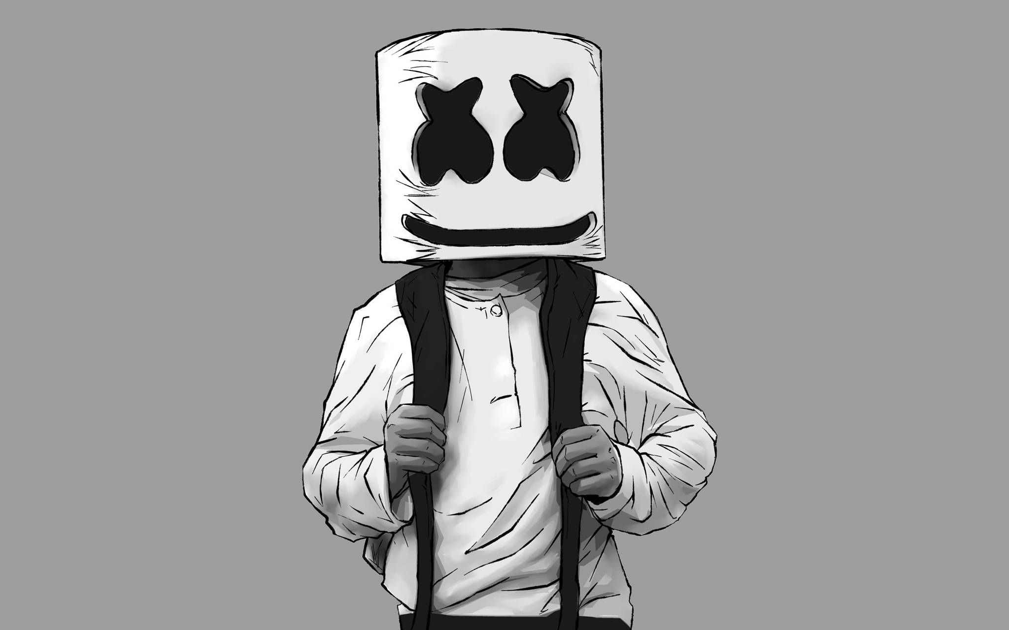 Marshmello Artwork, Cute wallpapers, Dj art