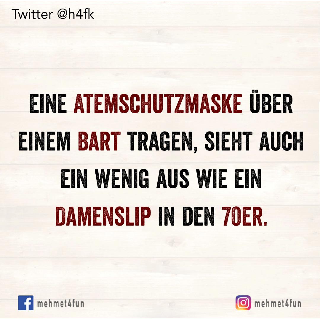 Atemschutzmaske Uber Bart Witzige Spruche Coole Spruche Lustige Spruche