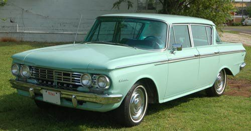 1962 Rambler Classic 400