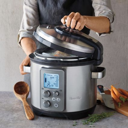 Breville Fast Slow Pro Pressure And Slow Cooker Breville Fast Slow Pro Fast And Slow Breville