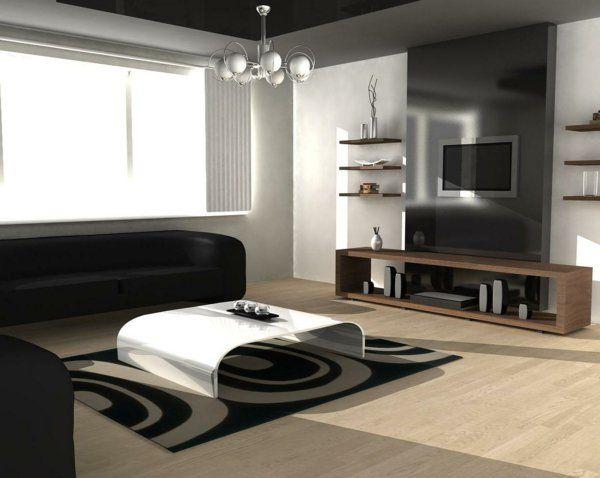 L\' intérieur de la maison contemporaine -salon design - Archzine ...