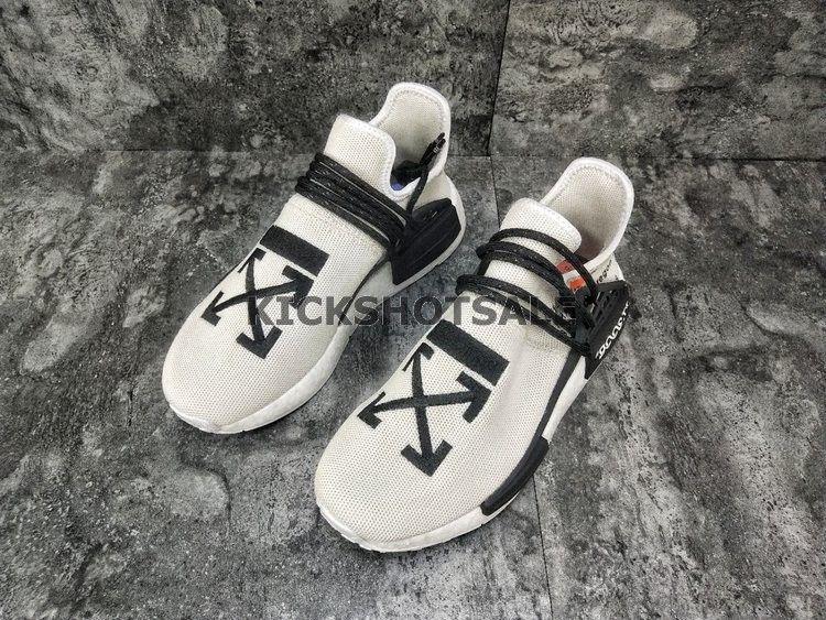 first rate e39dc 2e293 Off-White x Adidas NMD HU Pharrell Human Race ''White/Black ...