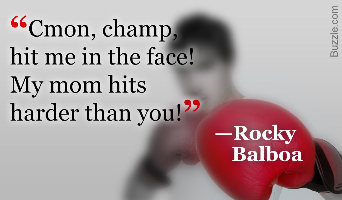 The Most Famous Rocky Balboa Quotes from the Rocky Film Series #rockybalboaquotes