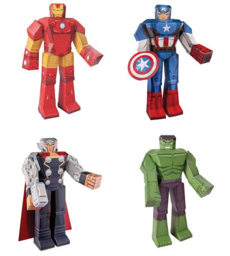 Assemble Your Very Own Team Of Earth S Mightiest Heroes All Four