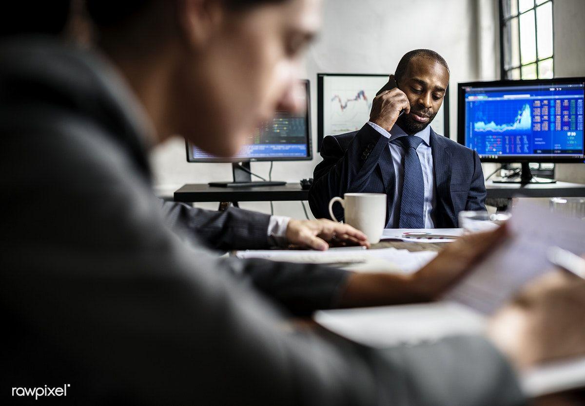 Download premium image of African American businessman