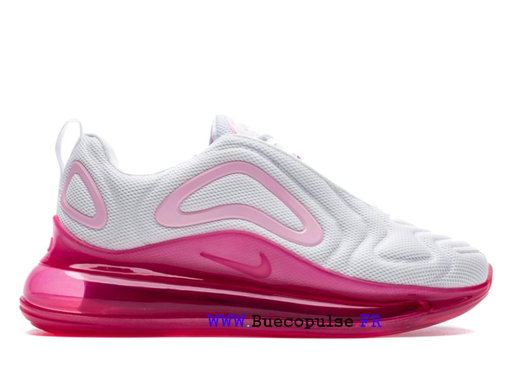 nike air max 720 chaussure pour femme blanc rose