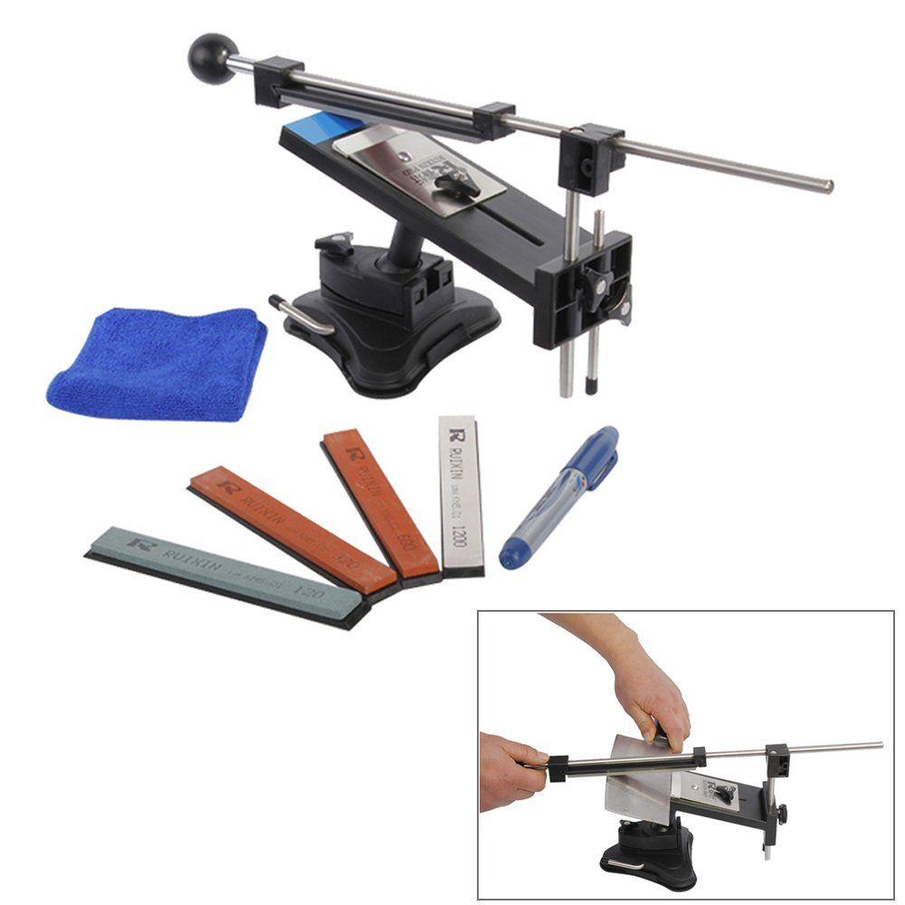 Taidea 4 Stone Corundum Whetstone Knife Sharpening System Kit 240
