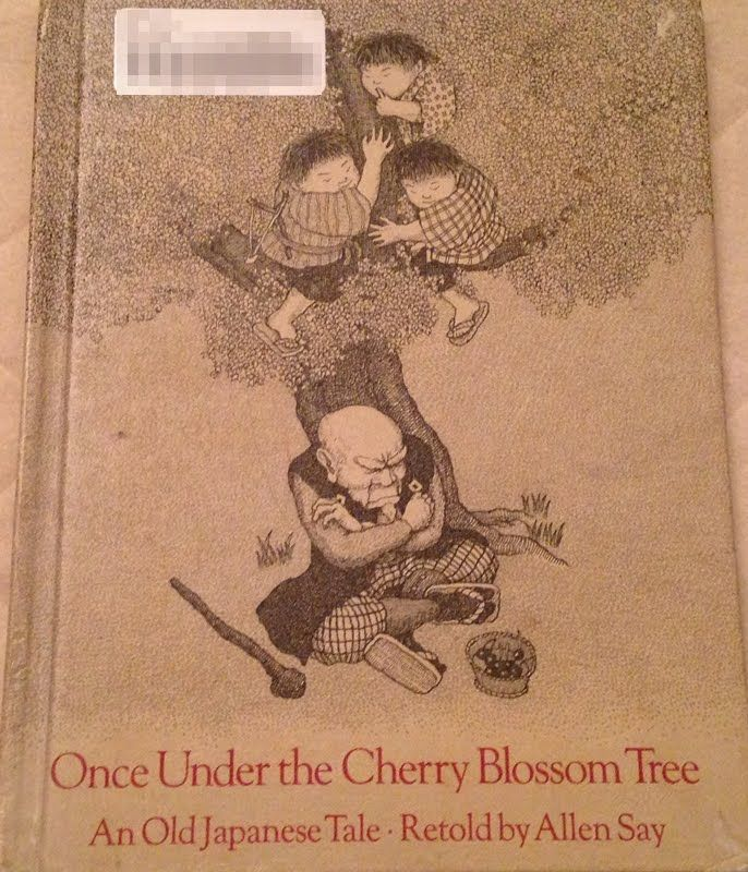 Once Under The Cherry Blossom Tree An Old Japanese Tale By Allen Say Blossom Trees Cherry Blossom Tree Japanese Drawings