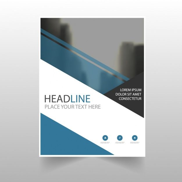 wwwfreepik free-vector brochure-template-design_946590 - annual report cover template