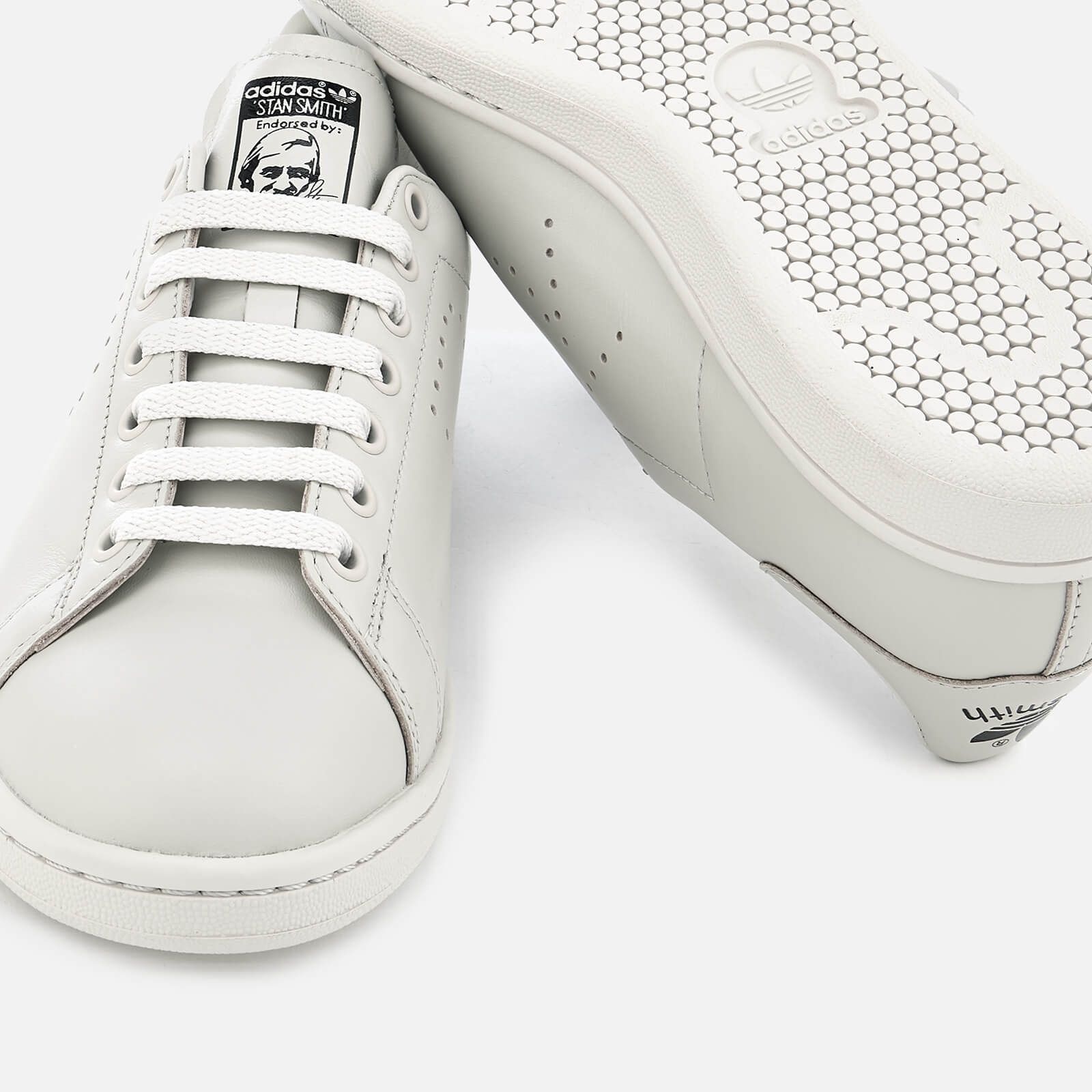 reputable site efae8 62759 adidas by Raf Simons Stan Smith Trainers - Mist Stone  Simons,  Stan,   adidas