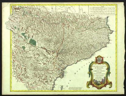 Etats de la couronne dAragon o se trouvent les royaumes dAragon