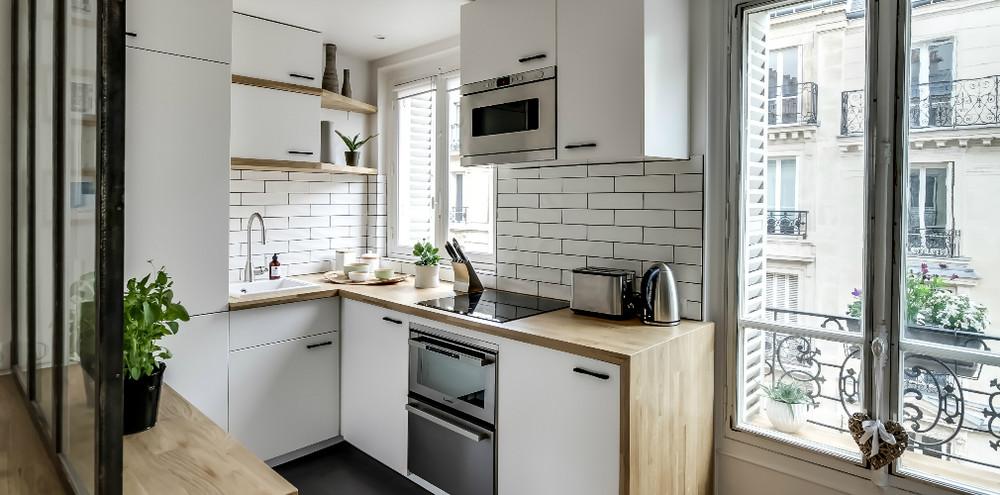Koski Decor Shines In Kitchen Maxi Plywood Diseno De Cocina