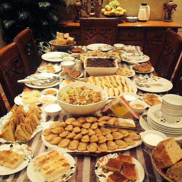 فطور أول يوم رمضان Eat Ramadan Table Settings