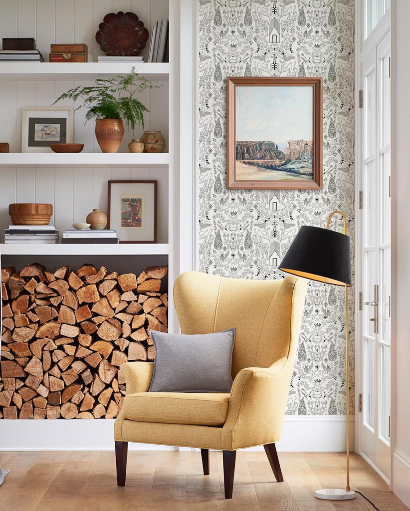 Brighten your space with Nethercote wallpaper from Hygge & West