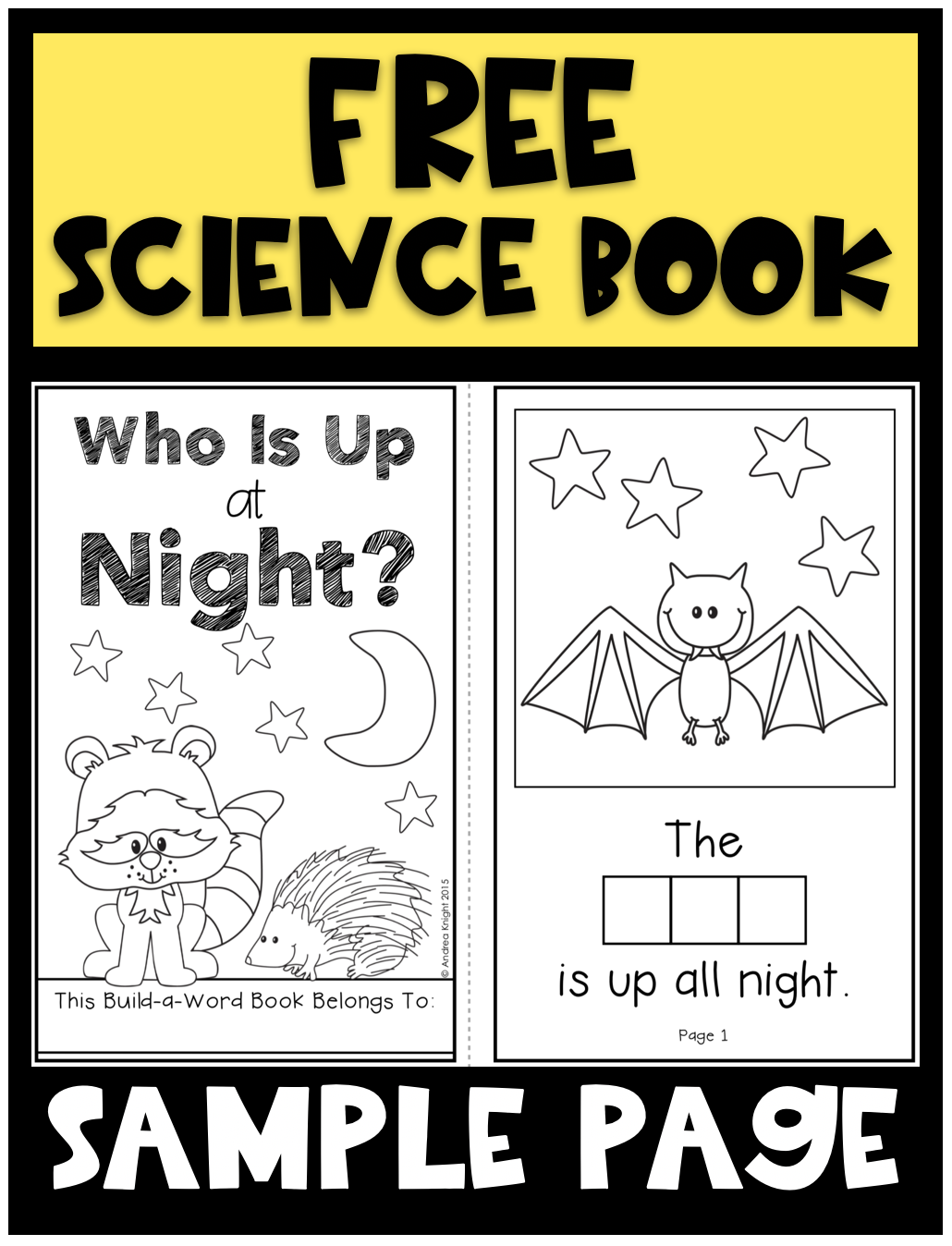 Nocturnal Animals Student Book Who Is Up At Night