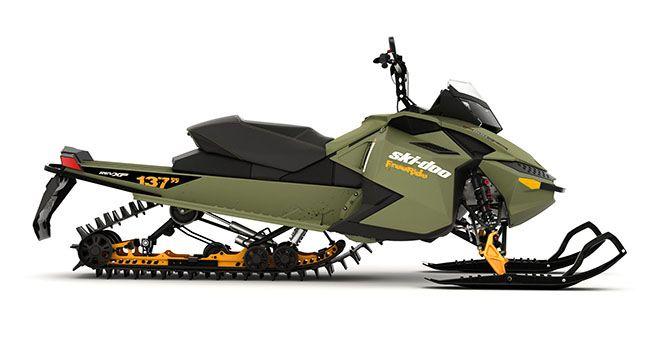 FREERIDE 137 Extreme Mountain Snowmobile | Ski-Doo USA  Cool