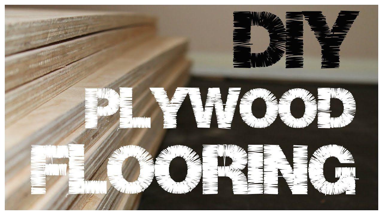 Plywood Flooring - An inexpensive alternative to hardwood ...