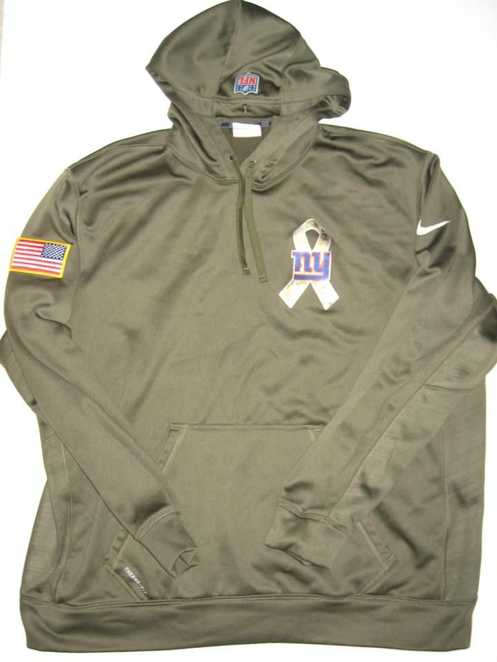 b8d7875c3 Kerry Wynn Player Issued New York Giants  72 Salute to Service Nike 2XL  Hoodie