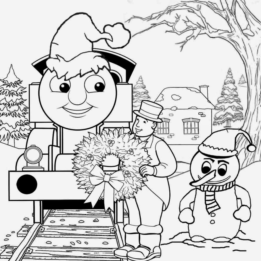 thomas and friends coloring pages thomas train coloring pages printable christmas work sheets santa