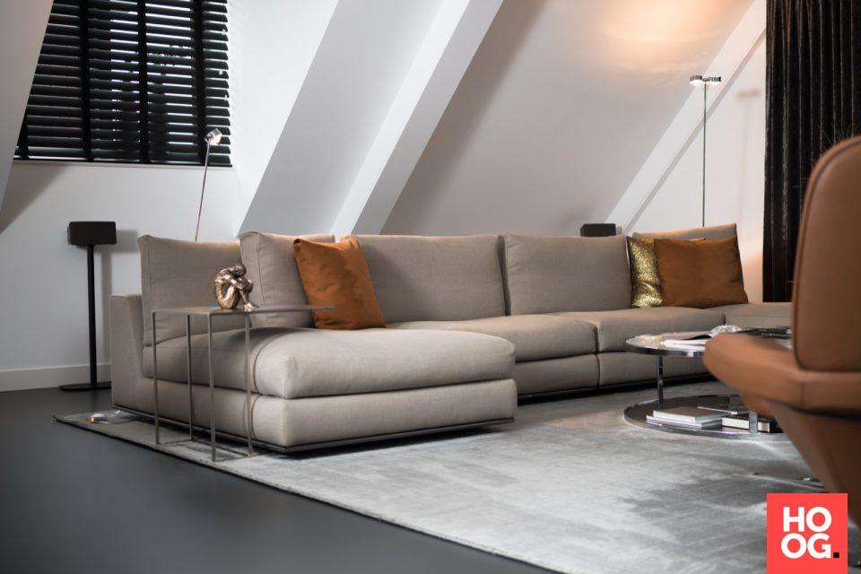 Hora minotti sofa interieur ideeen woonkamer living room