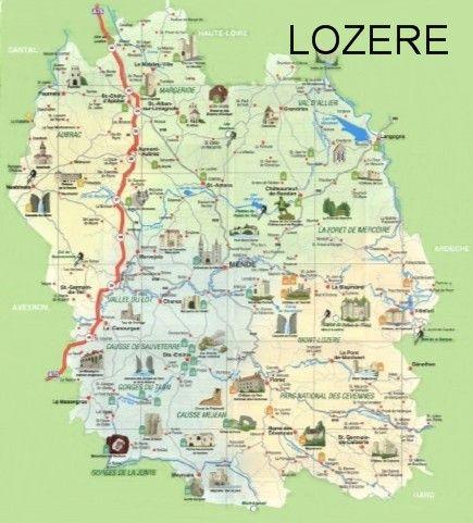 Les Cartes Touristiques Carte Touristique Les Regions De France