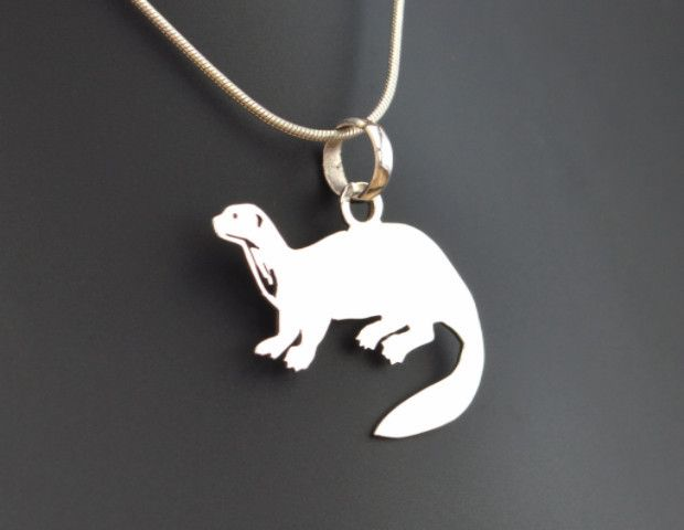 Giant river otter pendant another of the amazing designs that you giant river otter pendant another of the amazing designs that you will only find for aloadofball Image collections