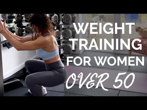 WEIGHT TRAINING WOMEN OVER 50 where to start? Join me WARMUP, FULL BODY BODYWEIGHT WORKOUT, STRETCH