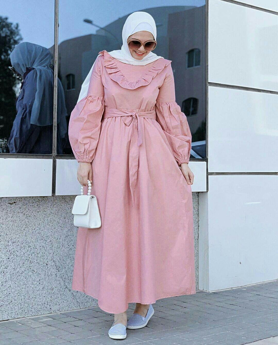 Hijab Fashion Muslim Women Hijab Fashion ملابس محجبات جيبات فساتين لبس كل يوم كاجوال عباية بناتي Muslim Fashion Dress Hijab Fashion Fashion Dresses