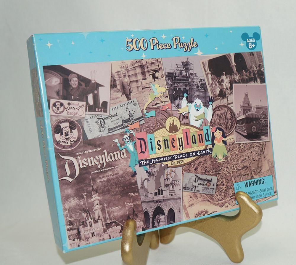disneyland 50th anniversary 500 piece jigsaw puzzle vintage 1955