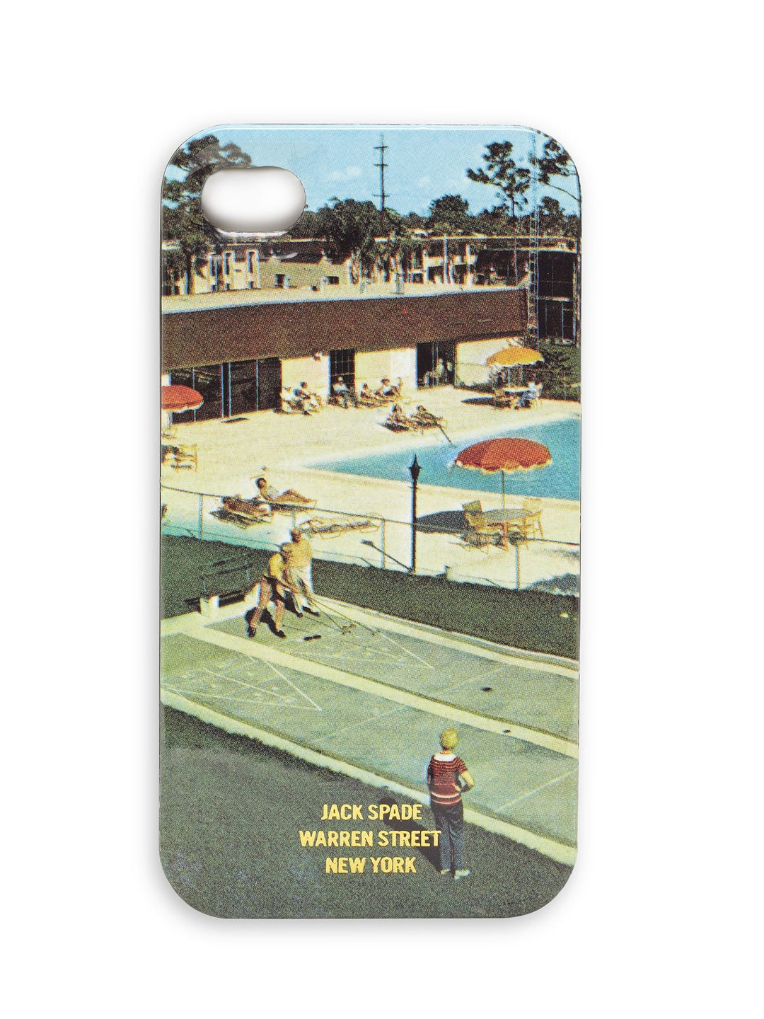 Jack Spade Shuffleboard iPhone Case. (With images
