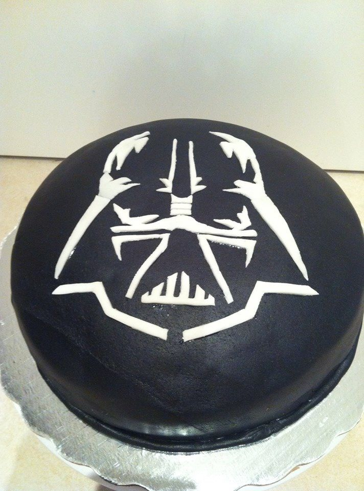Darth Vader cake to use for the BC transfer Hohag order