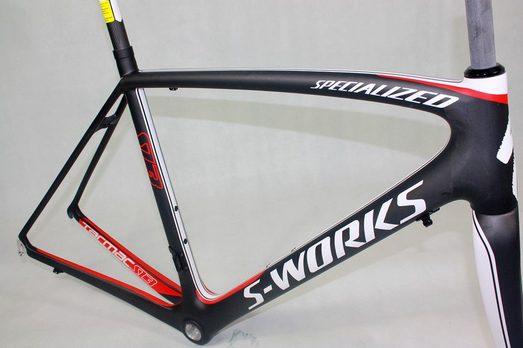 Specialized S-Works Tarmac SL3 Black Red Carbon #Roadbike #Frame ...