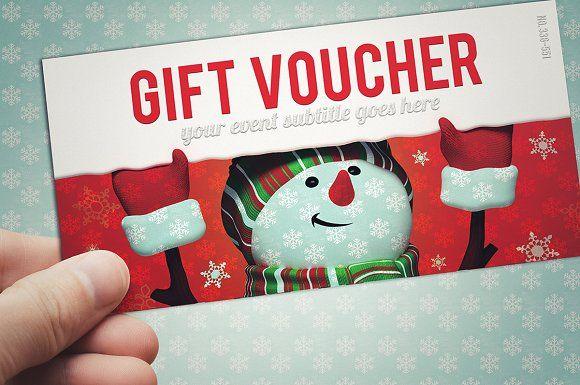 NAVIDAD vale de regalo - Tarjetas Plantillas Rev Pinterest - free christmas voucher template