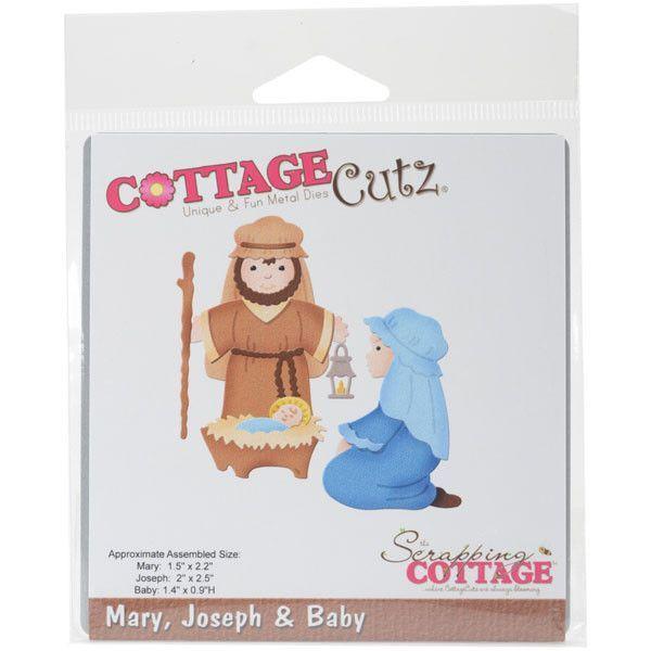 Cottagecutz Die Maryjosephbaby Jesus Products Pinterest