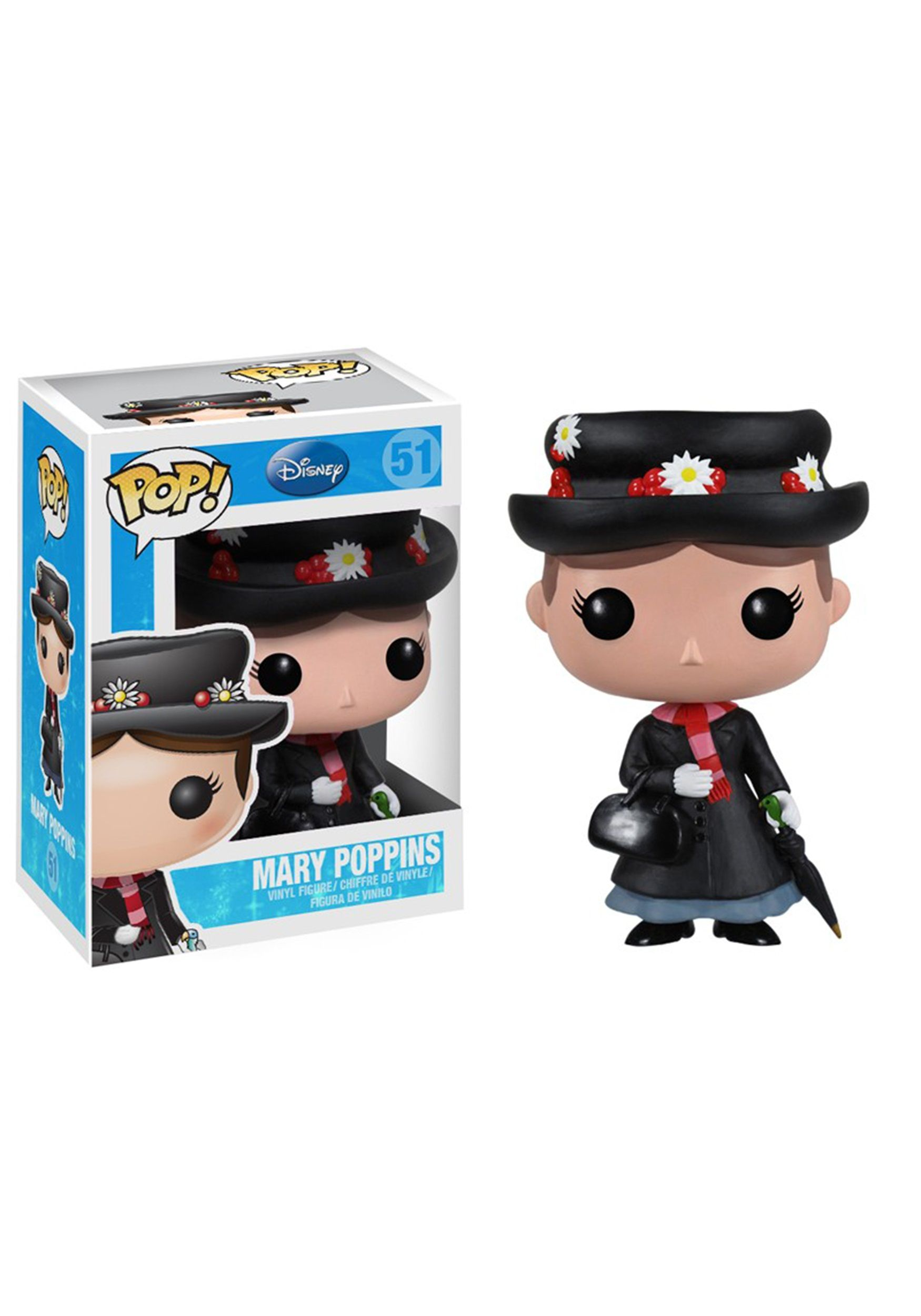 FLAWED BOX Disney Mary Poppins POP Vinyl Figure FUNKO
